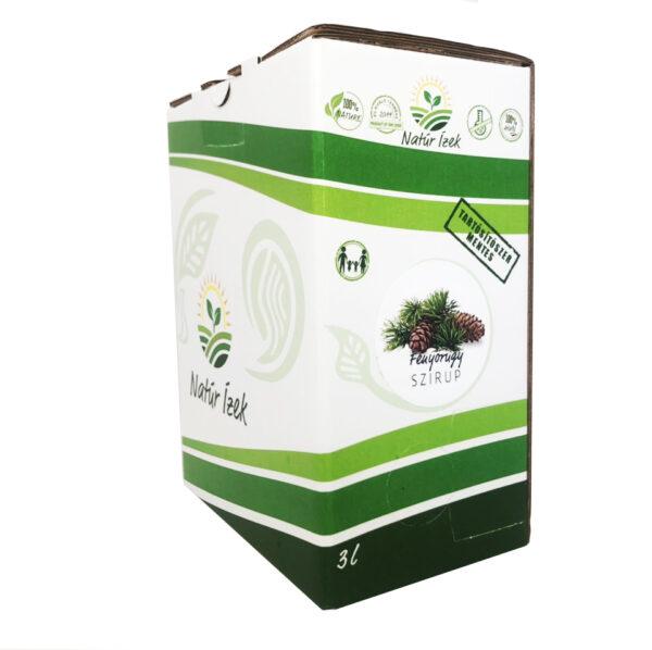 Fenyőrügy szirup Bag in Box 3 l